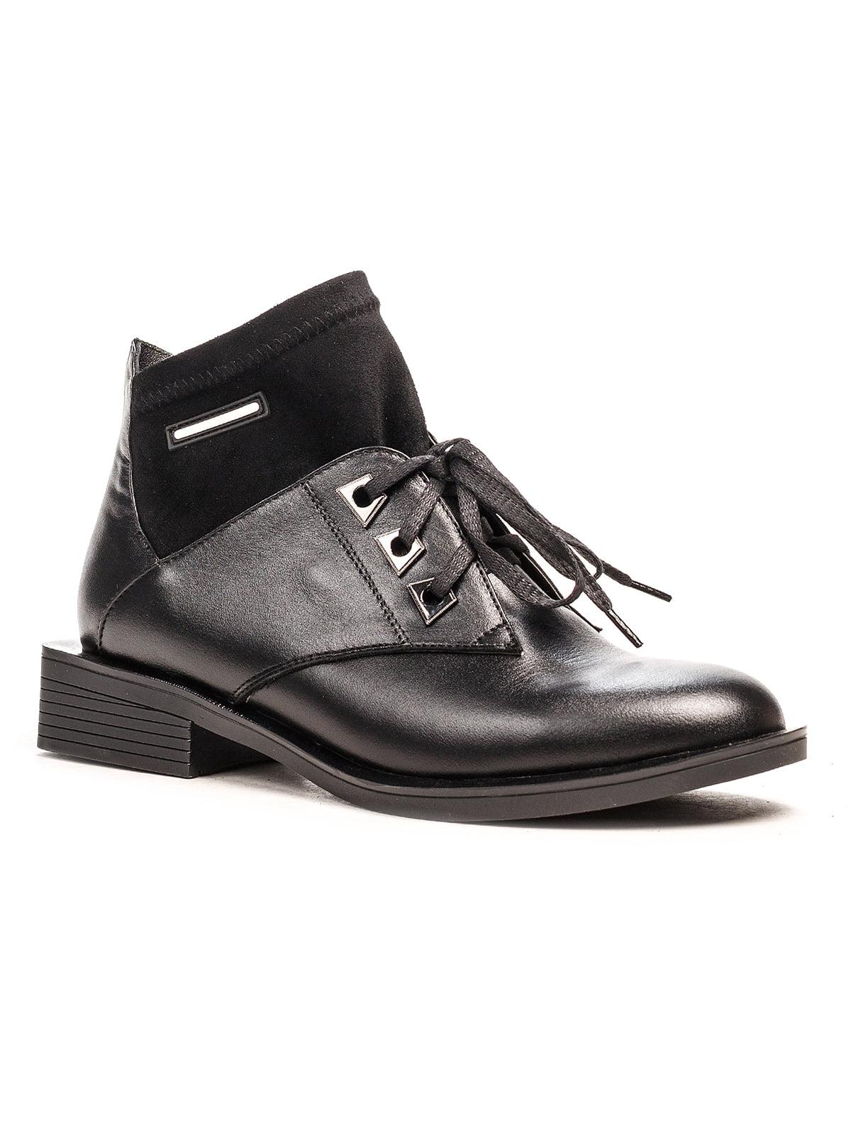 Ботинки черные | 5194510