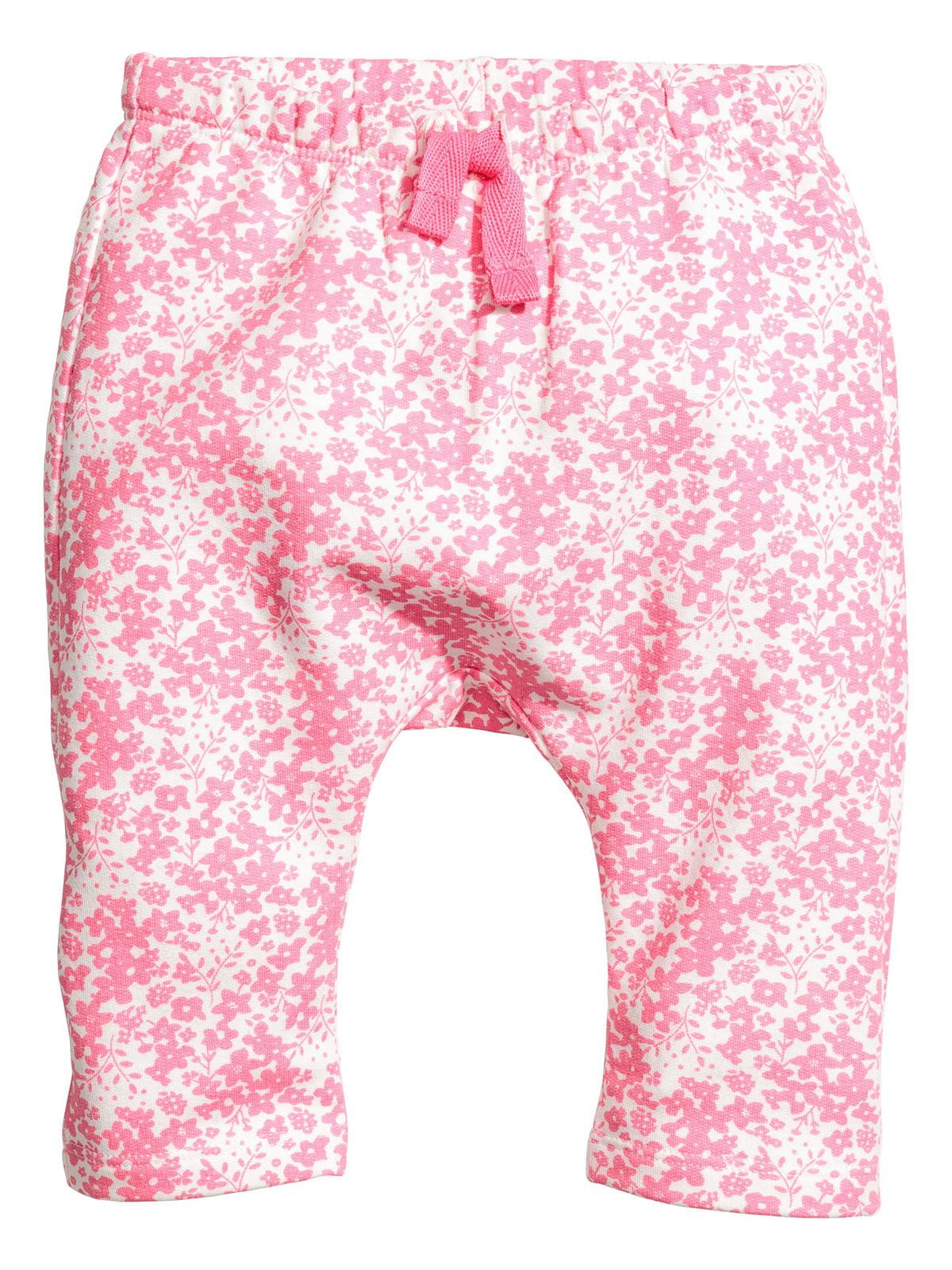 Штани біло-рожеві | 5196683