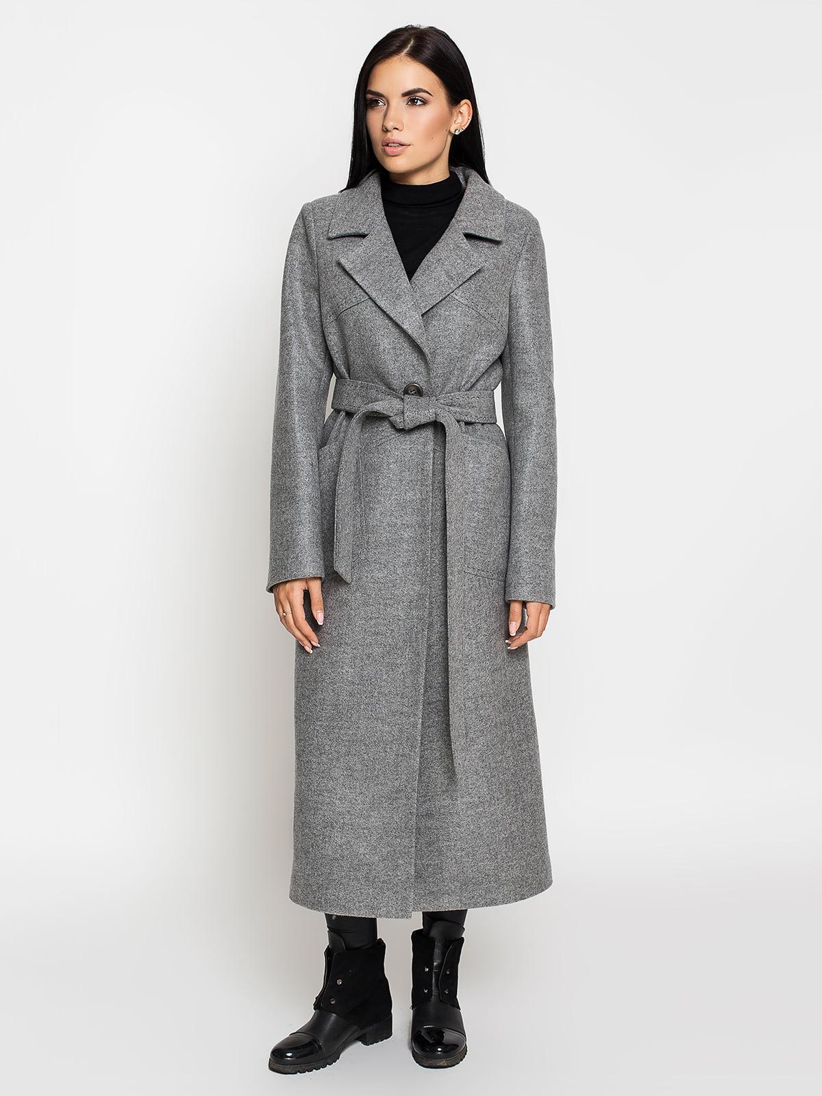 Пальто сіре | 5197859