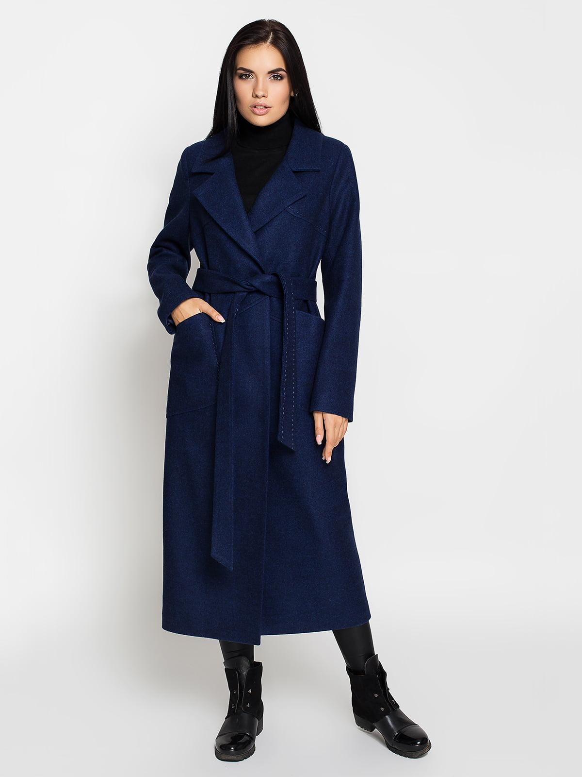 Пальто синє | 5197860