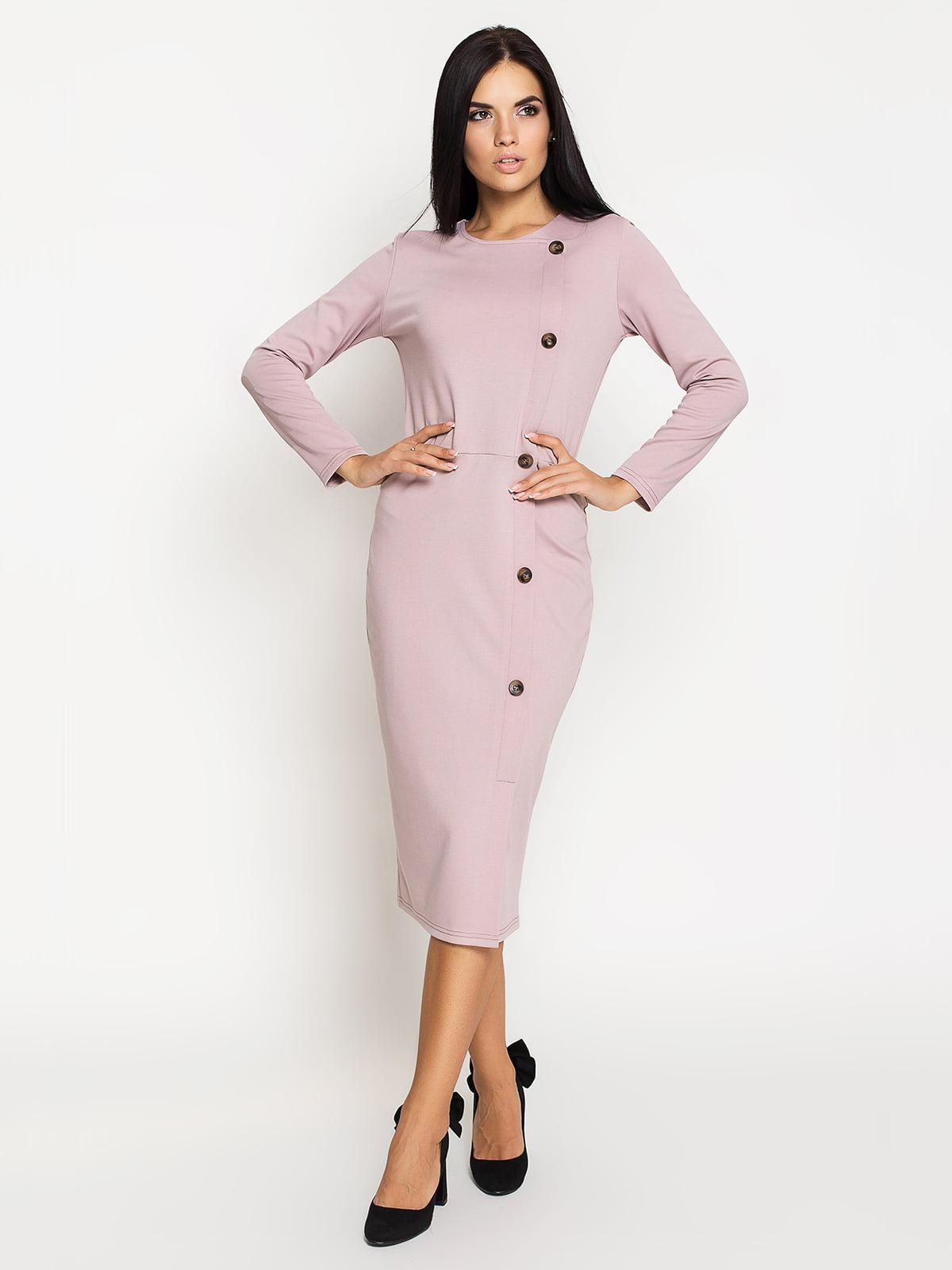 Сукня кольору пудри | 5197871