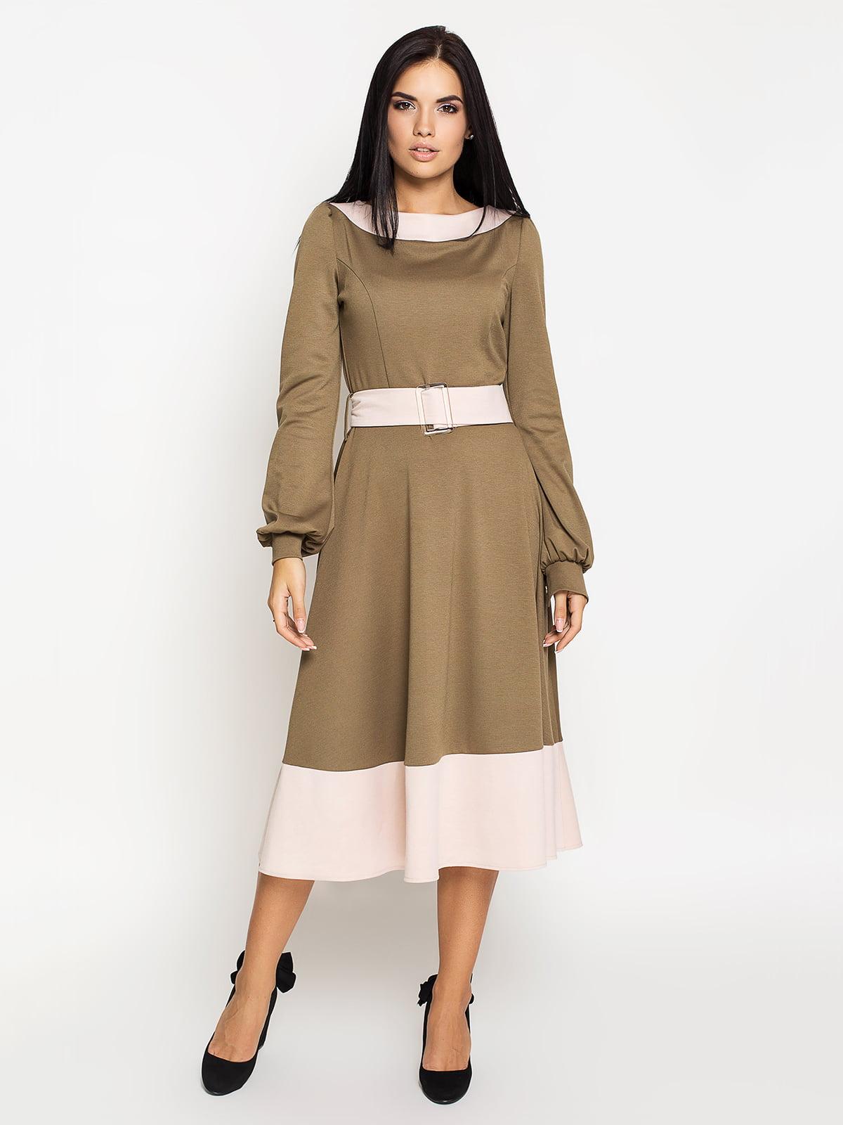 Сукня кольору хакі   5197873