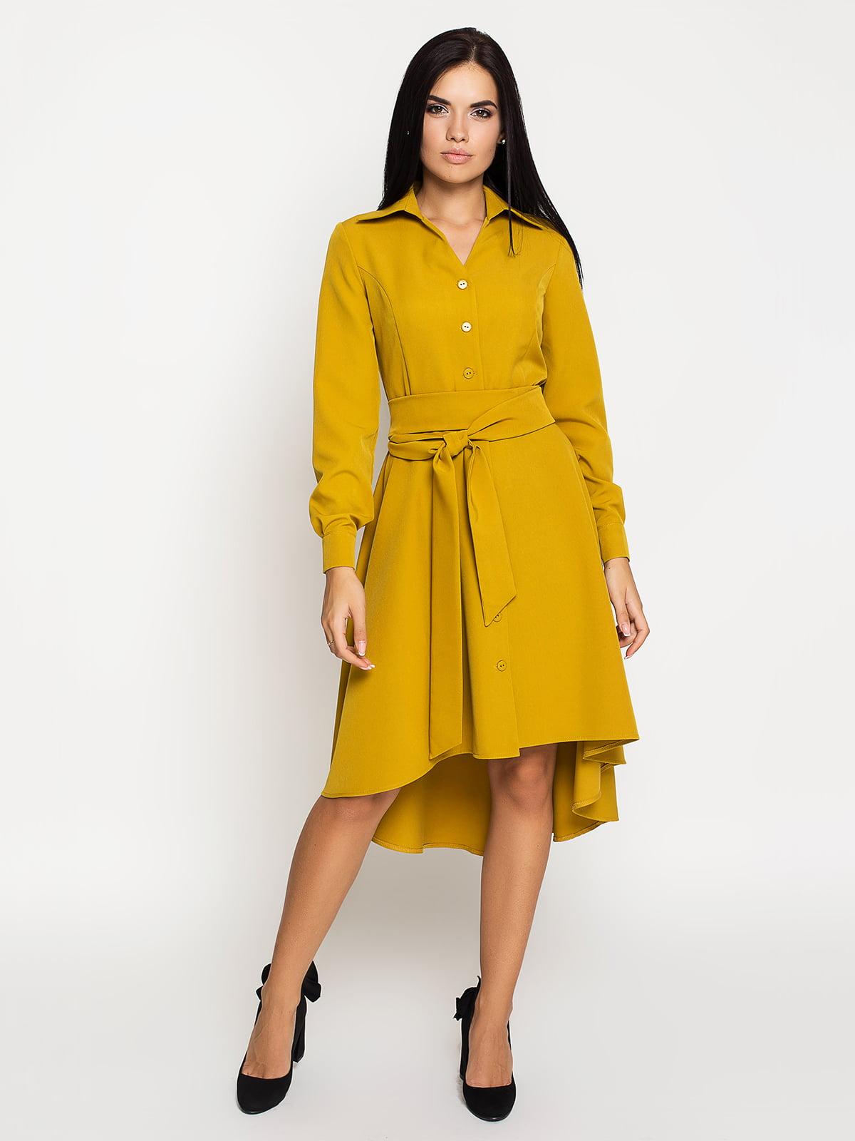 Сукня гірчичного кольору | 5197877