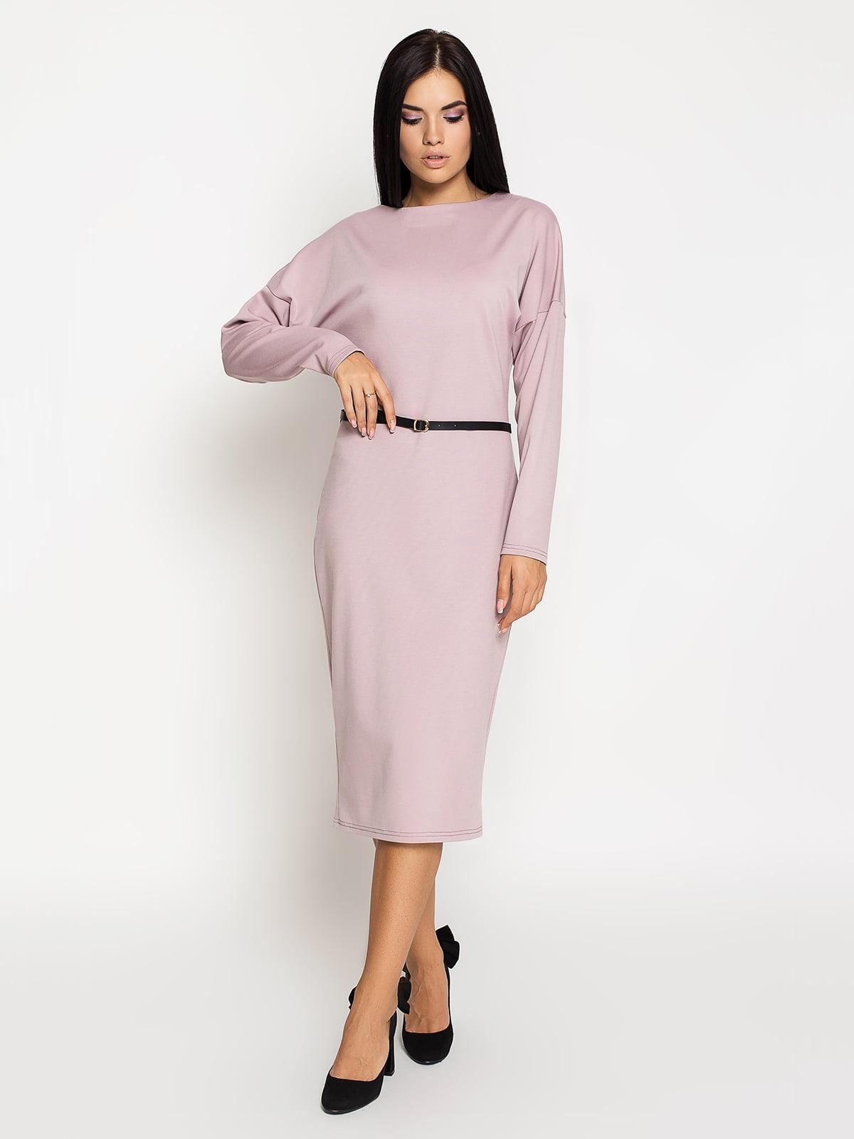 Сукня кольору пудри | 5197878