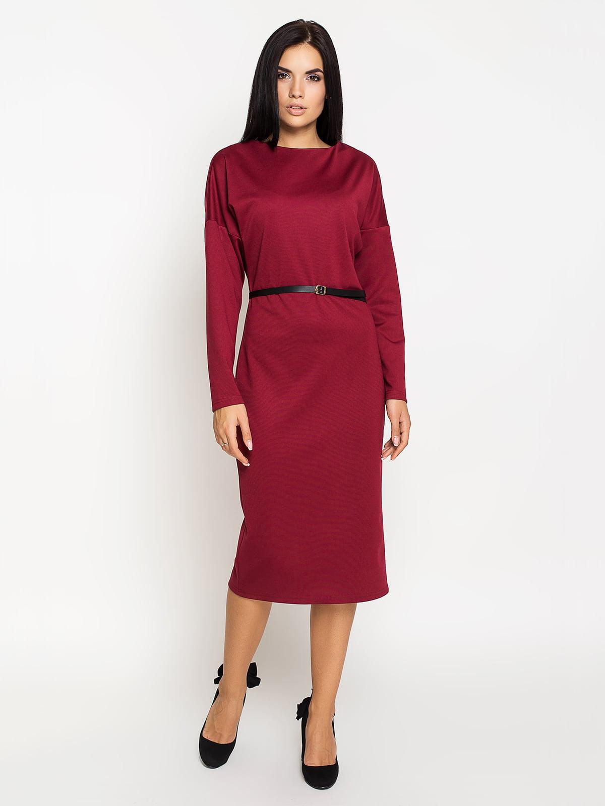 Сукня бордова   5197881