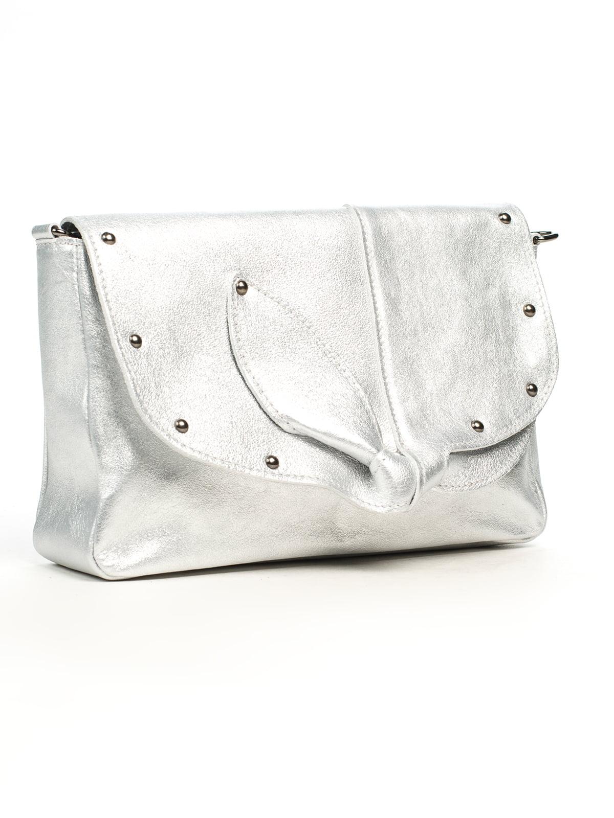 Сумка срібляста | 5196555
