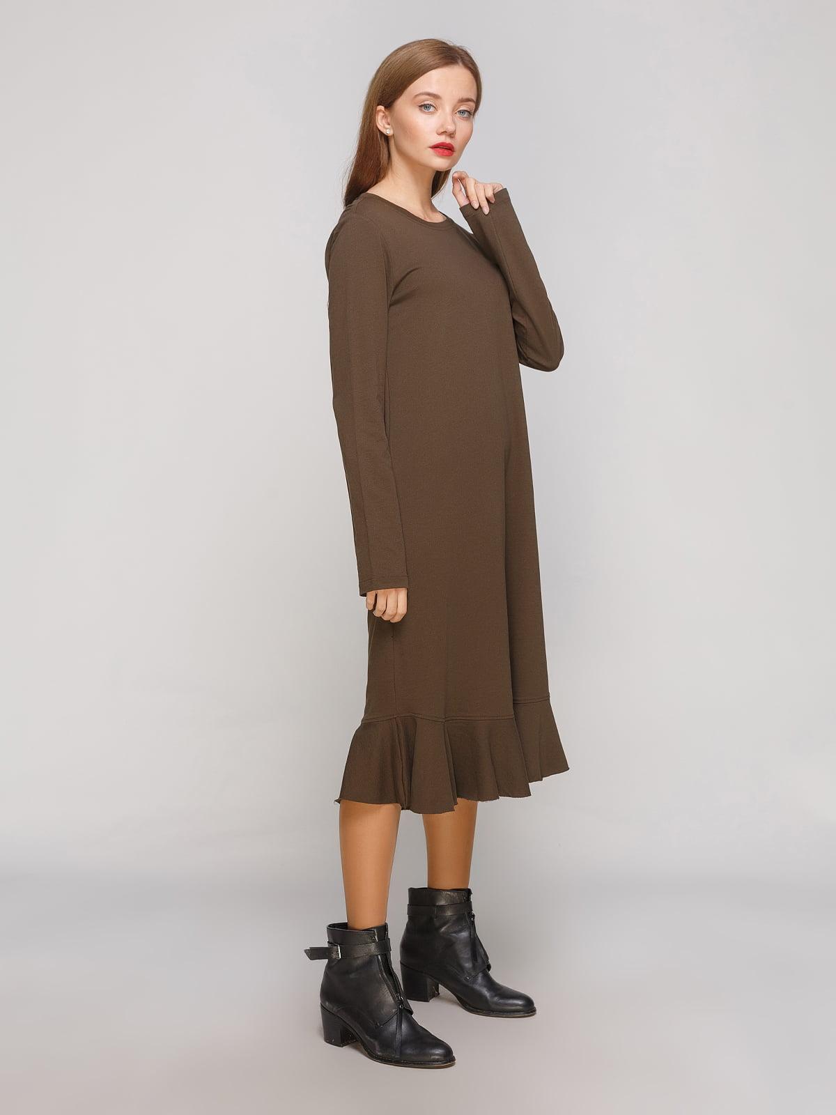 Сукня кольору хакі | 3270398
