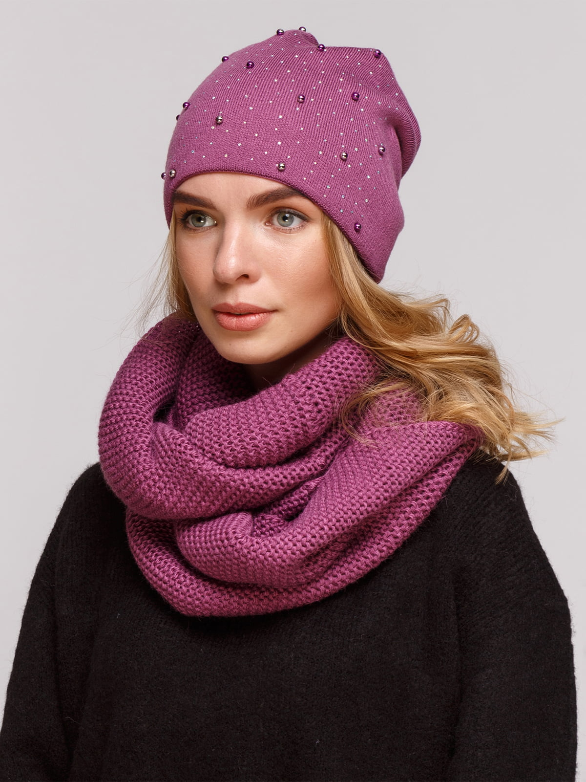 Комплект: шапка і шарф-снуд   5195719
