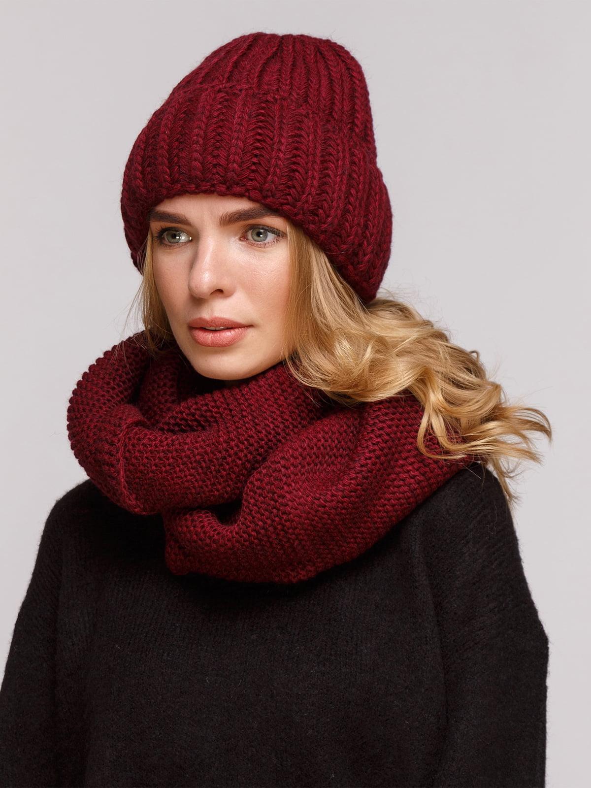 Комплект: шапка і шарф-снуд | 5195701