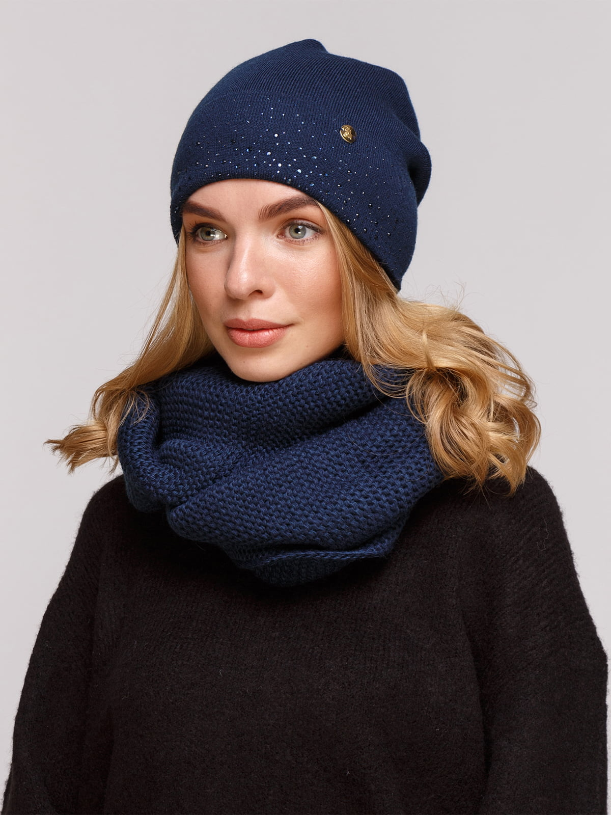 Комплект: шапка і шарф-снуд | 5195757