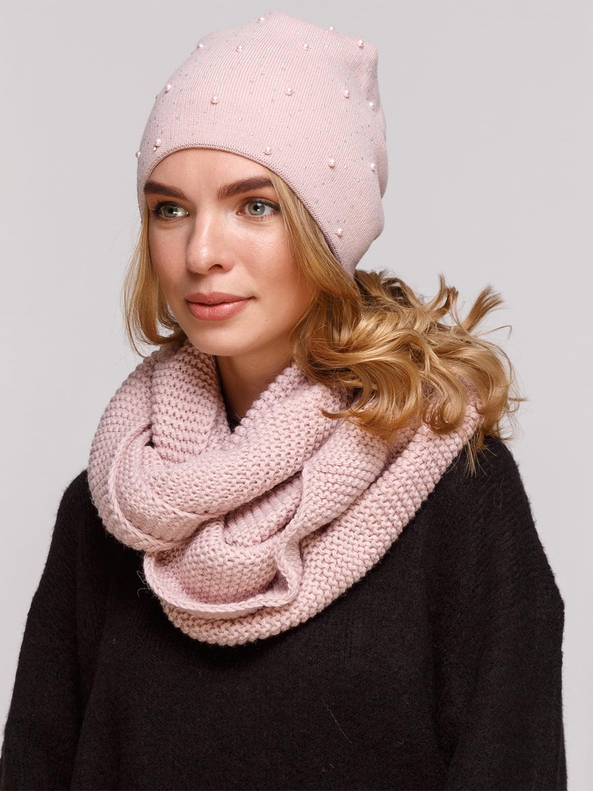 Комплект: шапка і шарф-снуд   5195720