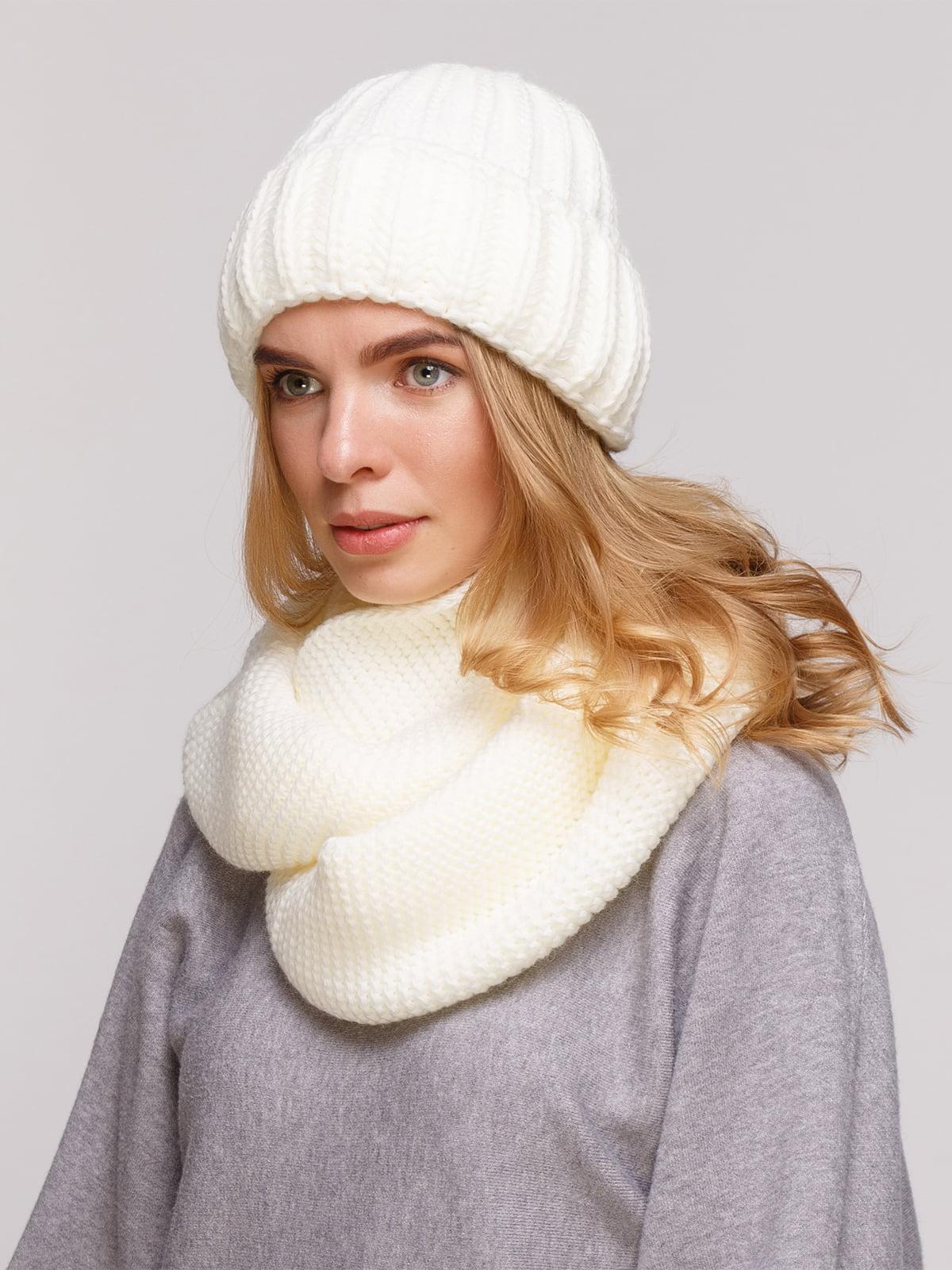 Комплект: шапка і шарф-снуд | 5195700