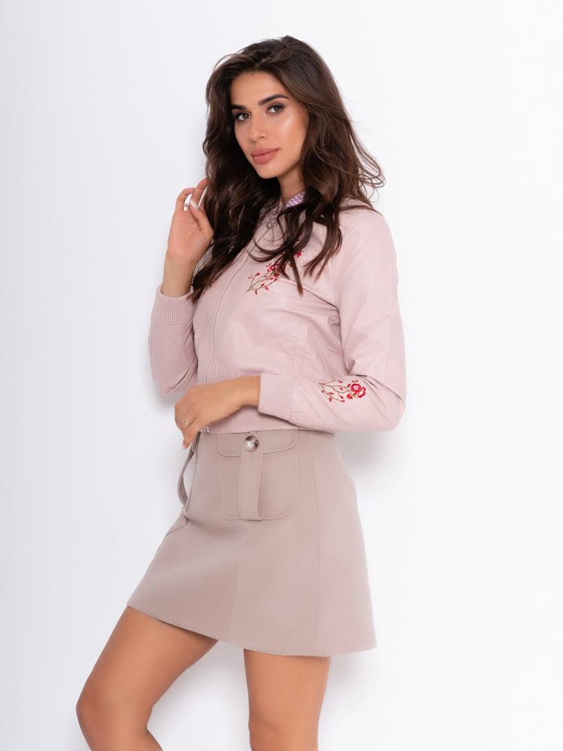Куртка пудрового цвета | 5200597