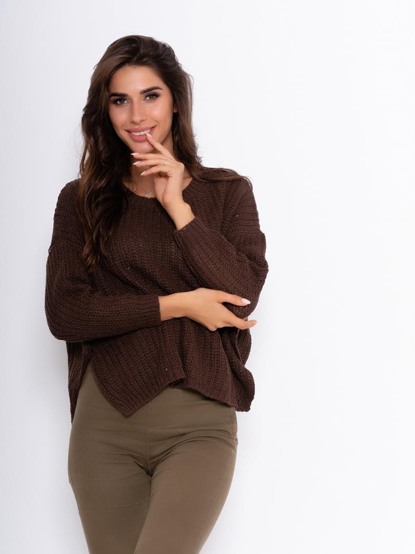 Джемпер коричневый | 5200607
