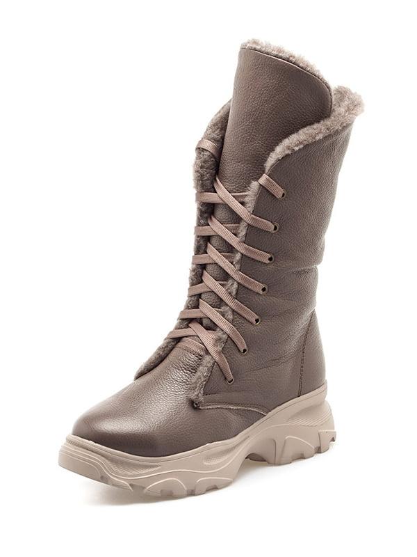 Ботинки серые | 5194532