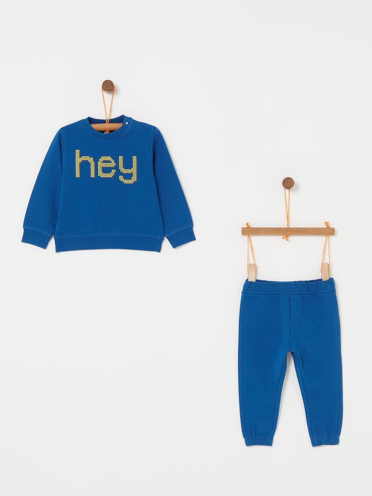 Комплект: свитшот и брюки | 5166644