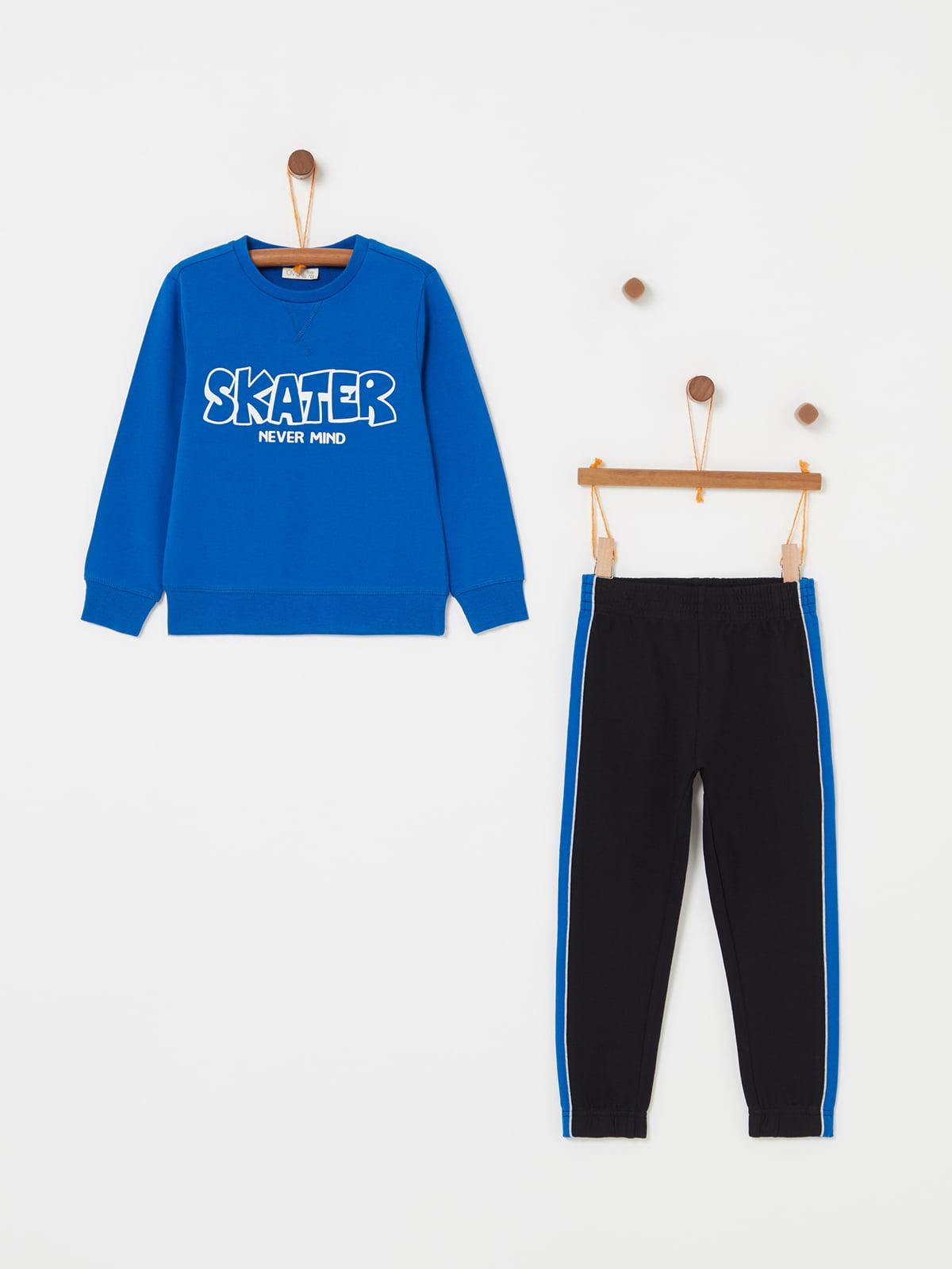 Комплект: світшот і штани | 5166718