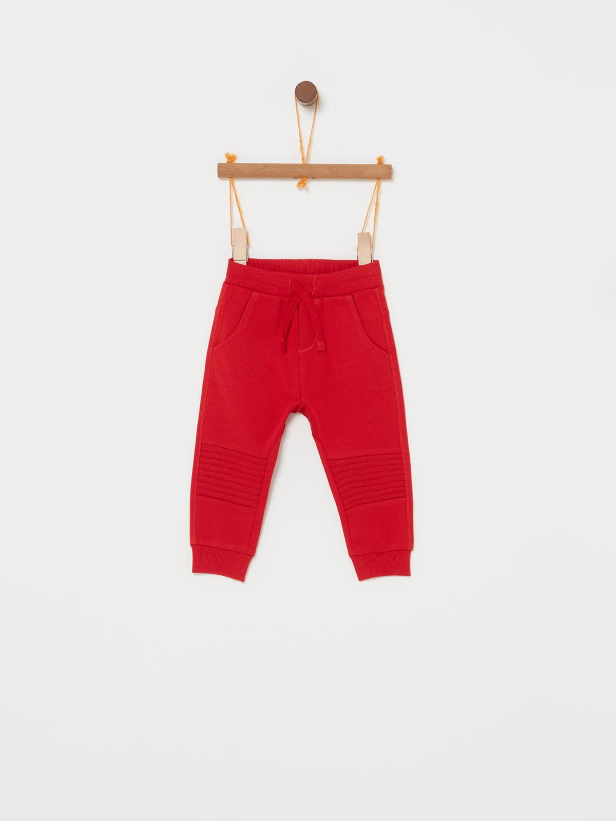 Штани червоні | 5183529