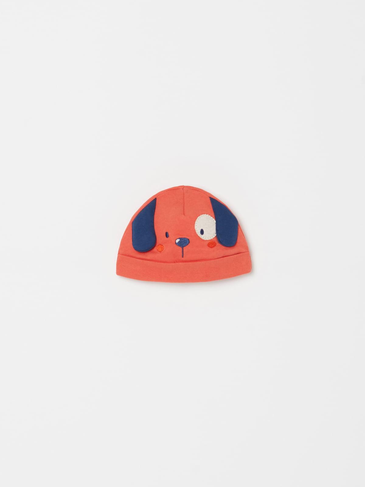Шапка оранжевая | 5183578