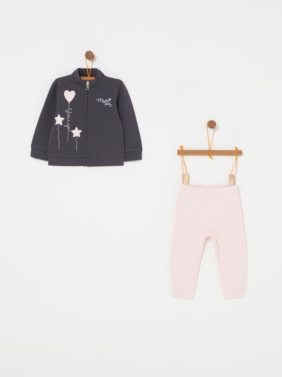 Комплект: кофта та штани | 5183716