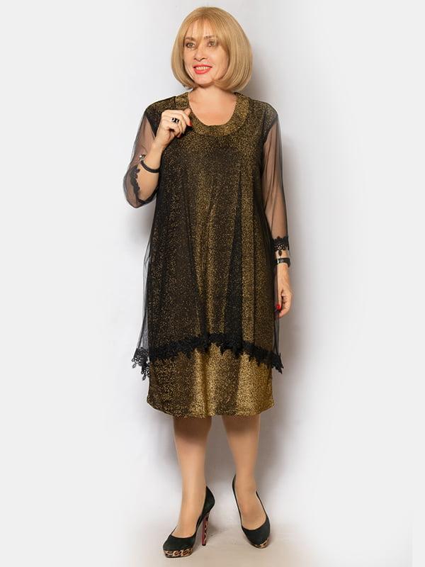 Платье золотистого цвета | 5200963