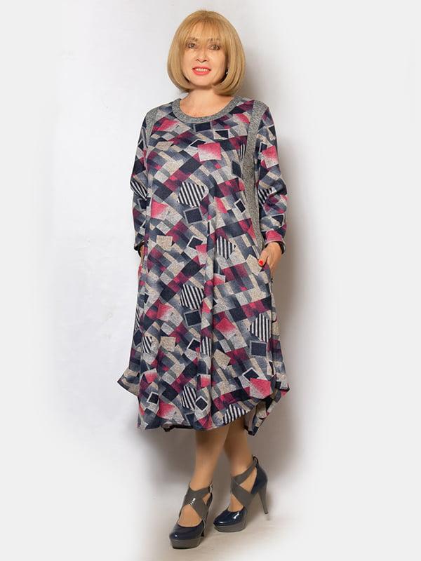 Платье в принт | 5201022