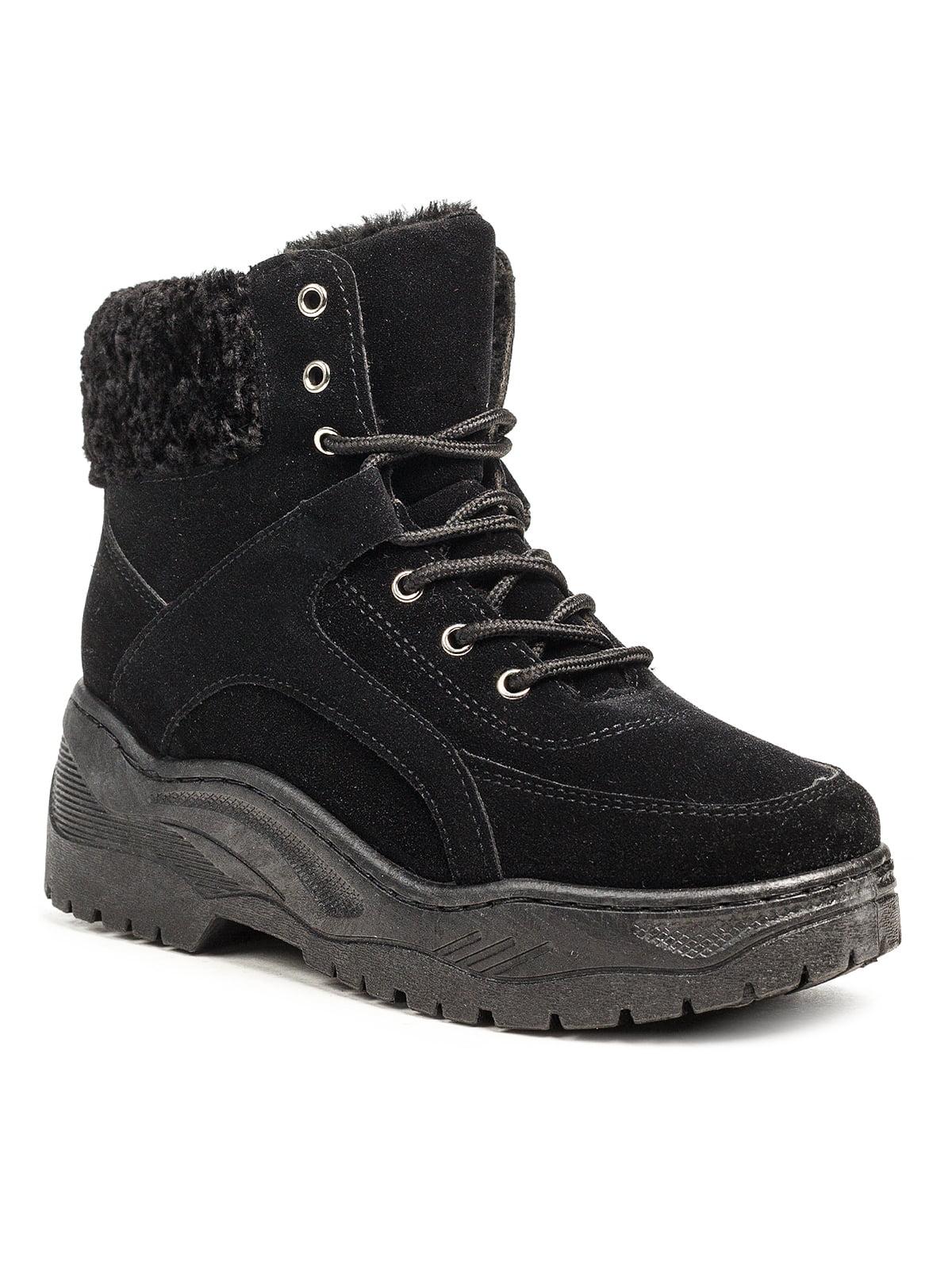 Ботинки черные | 5200189
