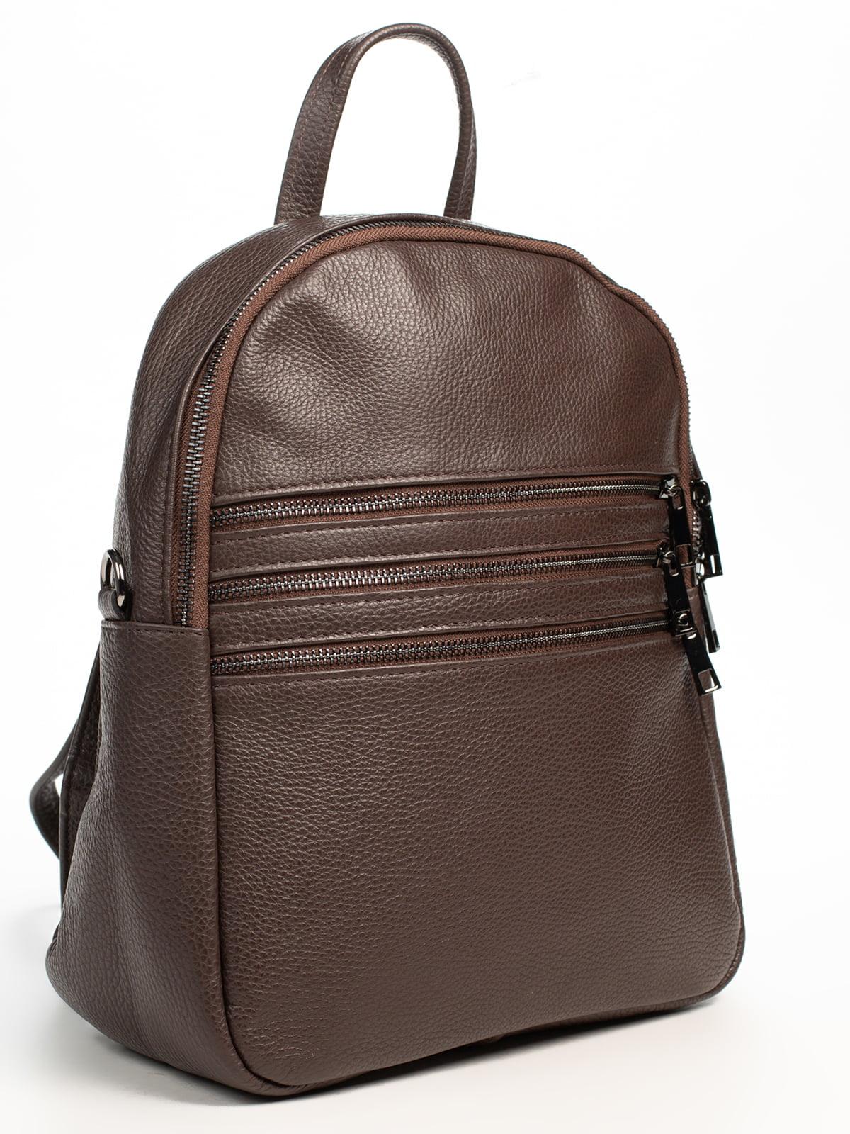 Рюкзак коричневий | 5196503