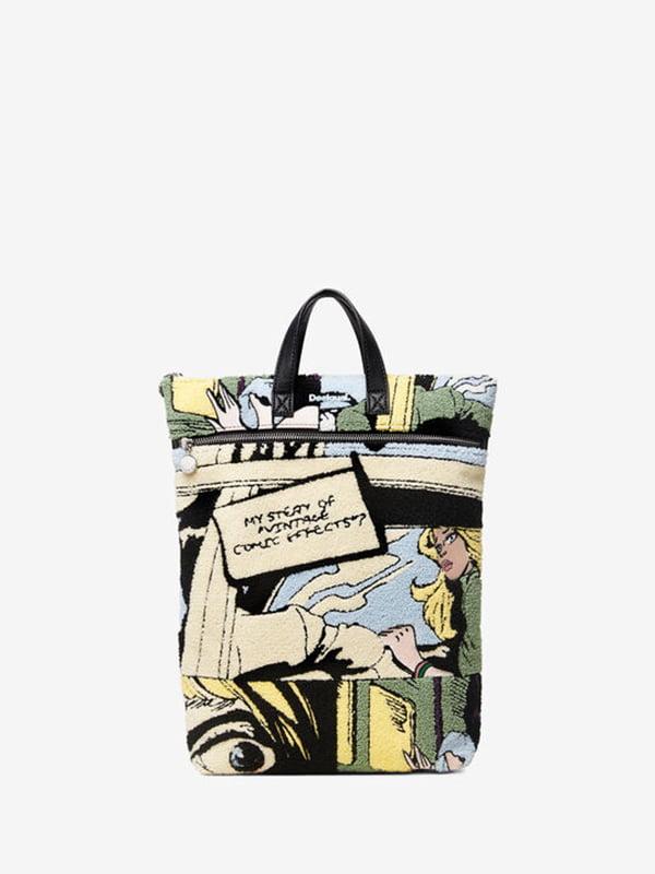 Рюкзак у принт | 5185553