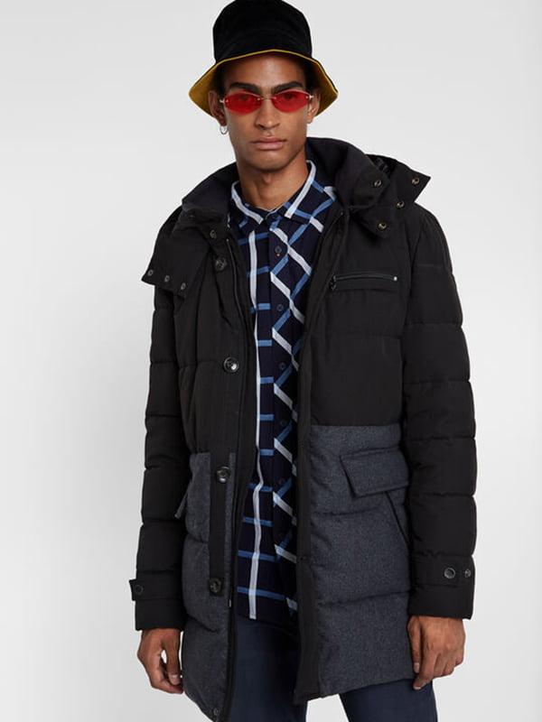 Куртка чорна | 5185578