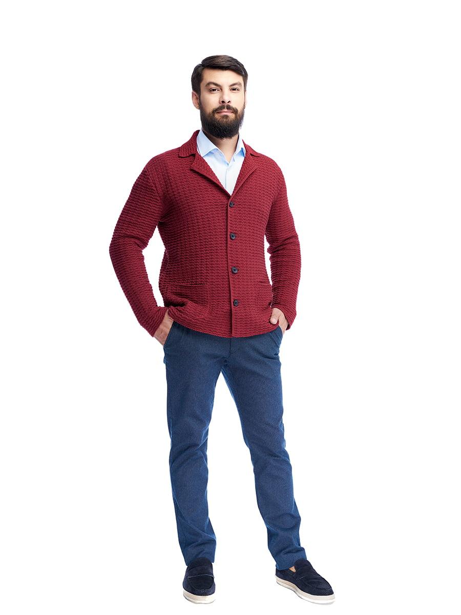 Пиджак бордовый | 5203141