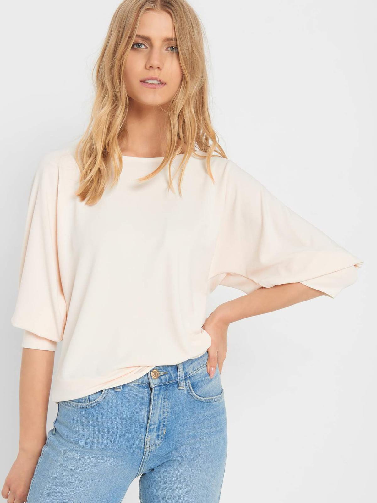 Блуза цвета пудры   5203172