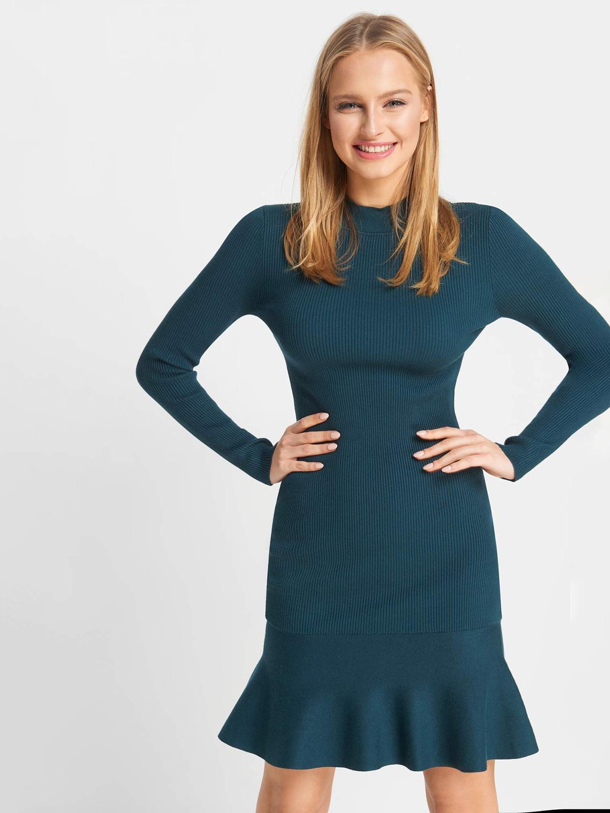 Сукня темно-бірюзова | 5203215