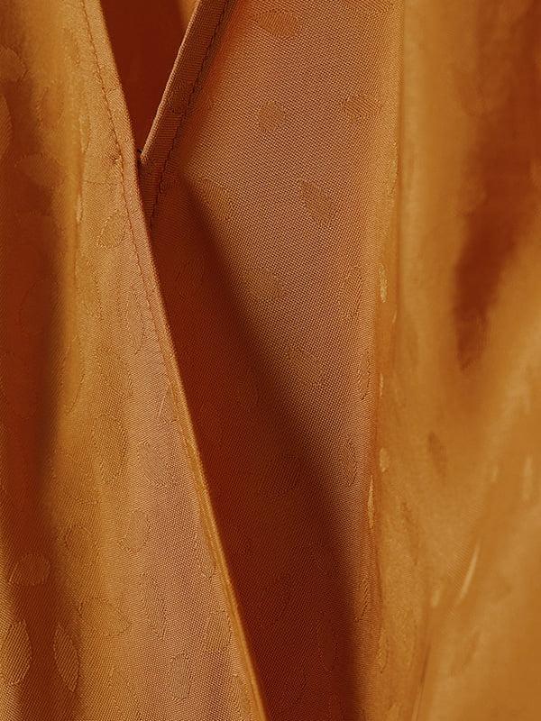 Блуза горчичного цвета   5197595