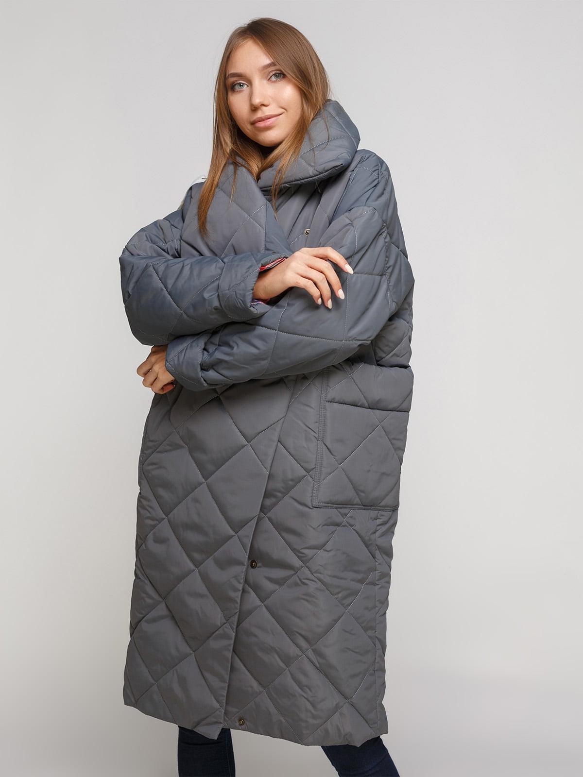 Пальто сіре | 4762888