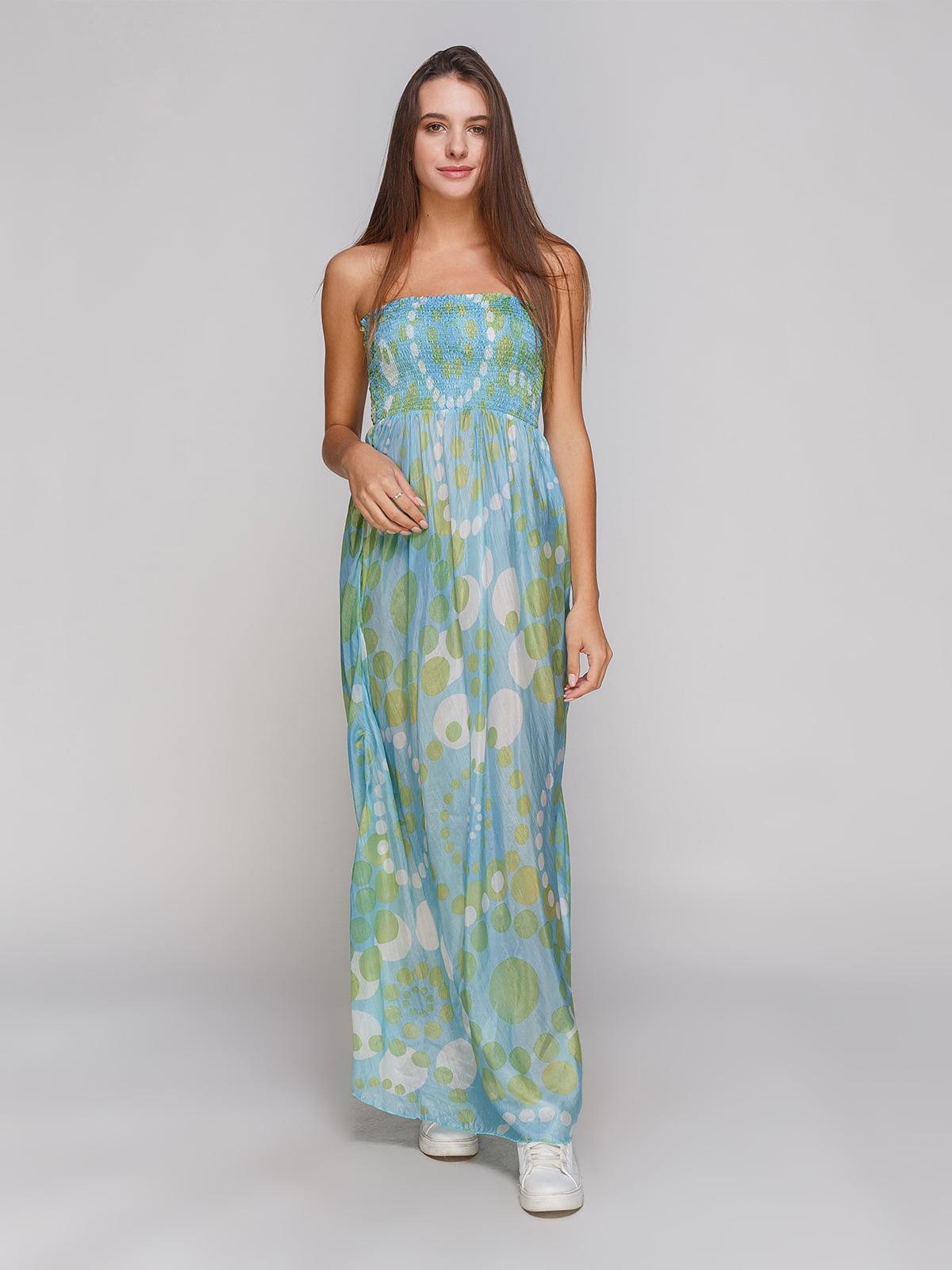 Сукня бірюзова | 4665266