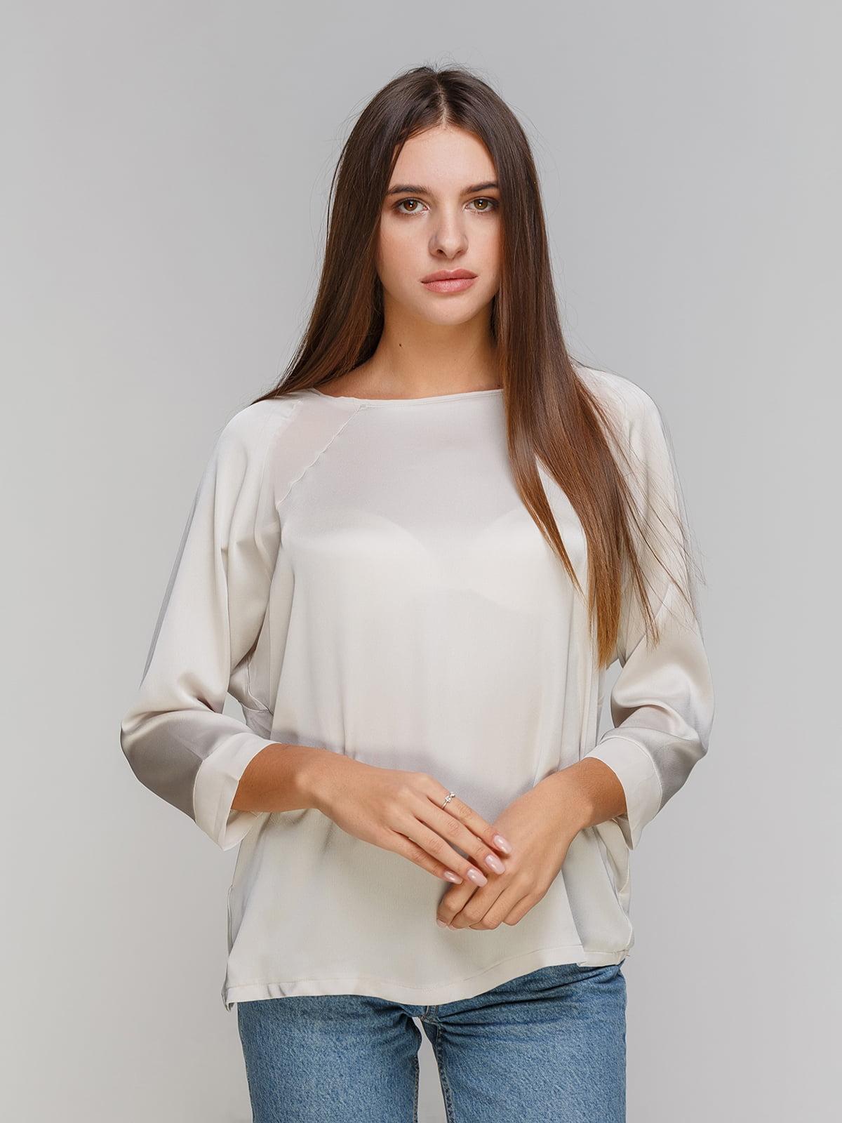 Блуза белая | 3994328