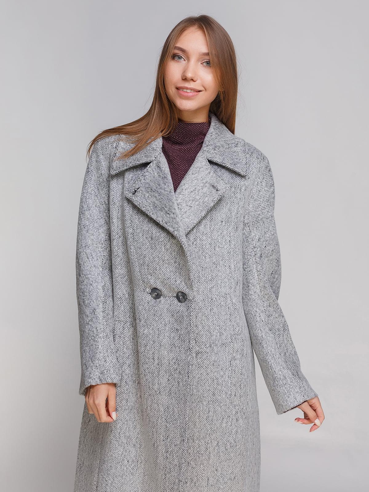 Пальто сіре | 4768814