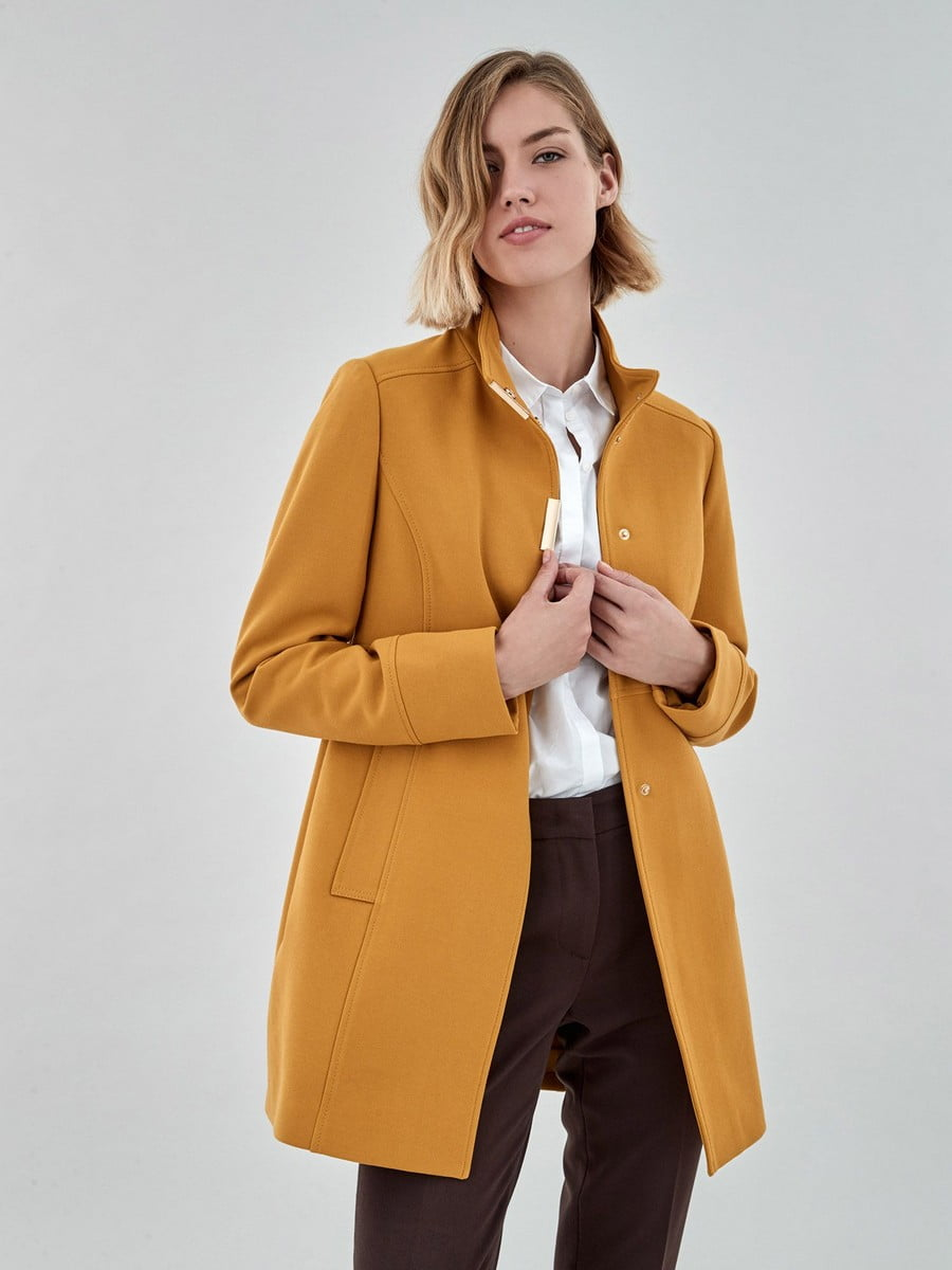 Пальто жовте   5198598