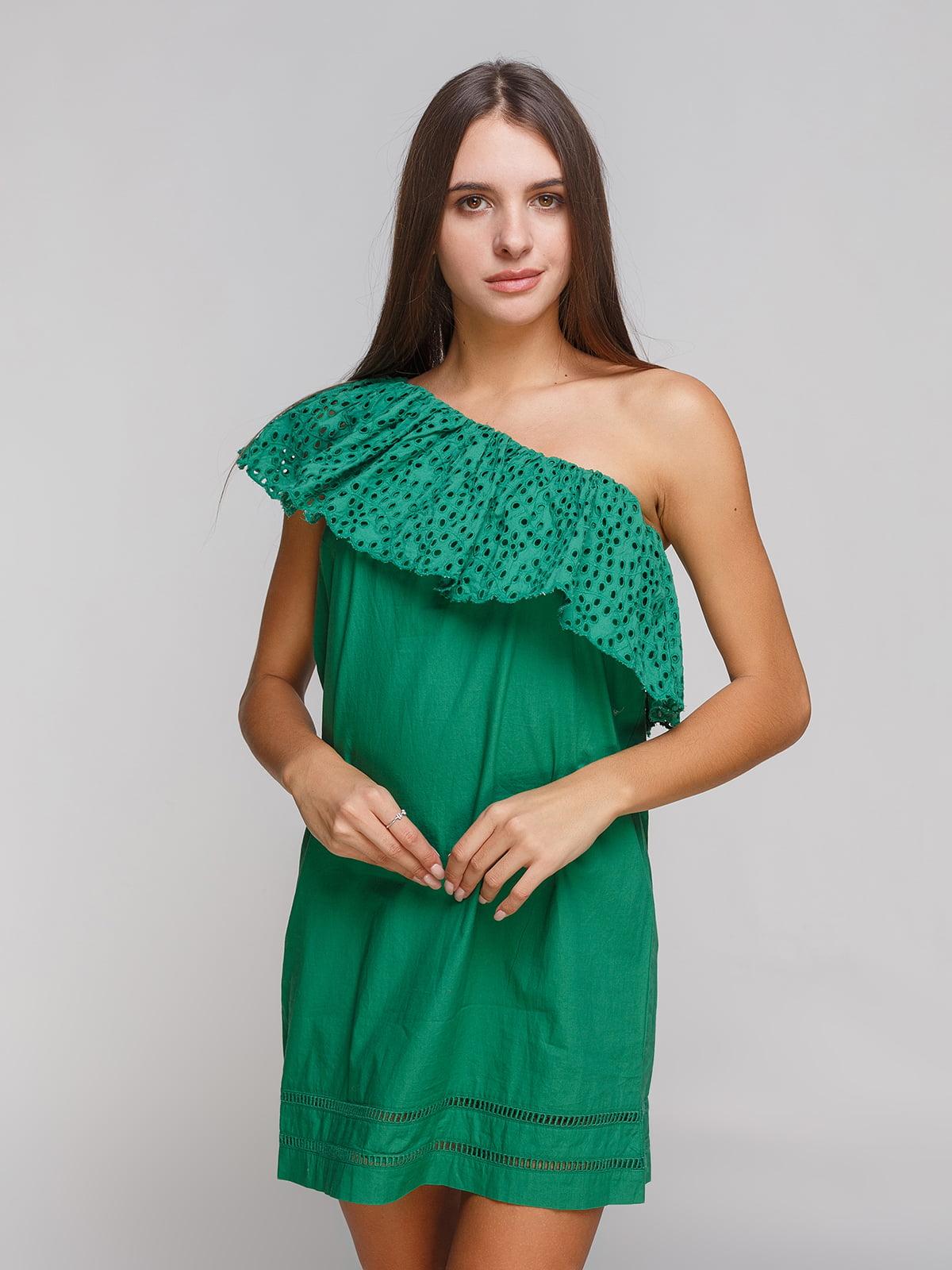 Платье зеленое | 4113416
