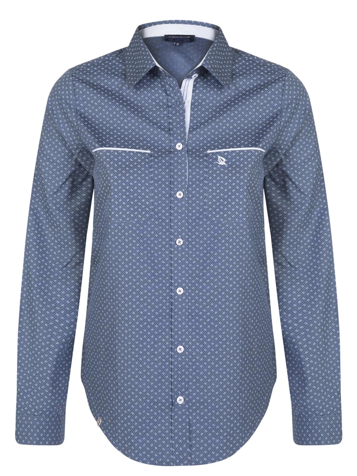 Рубашка в принт | 5206784