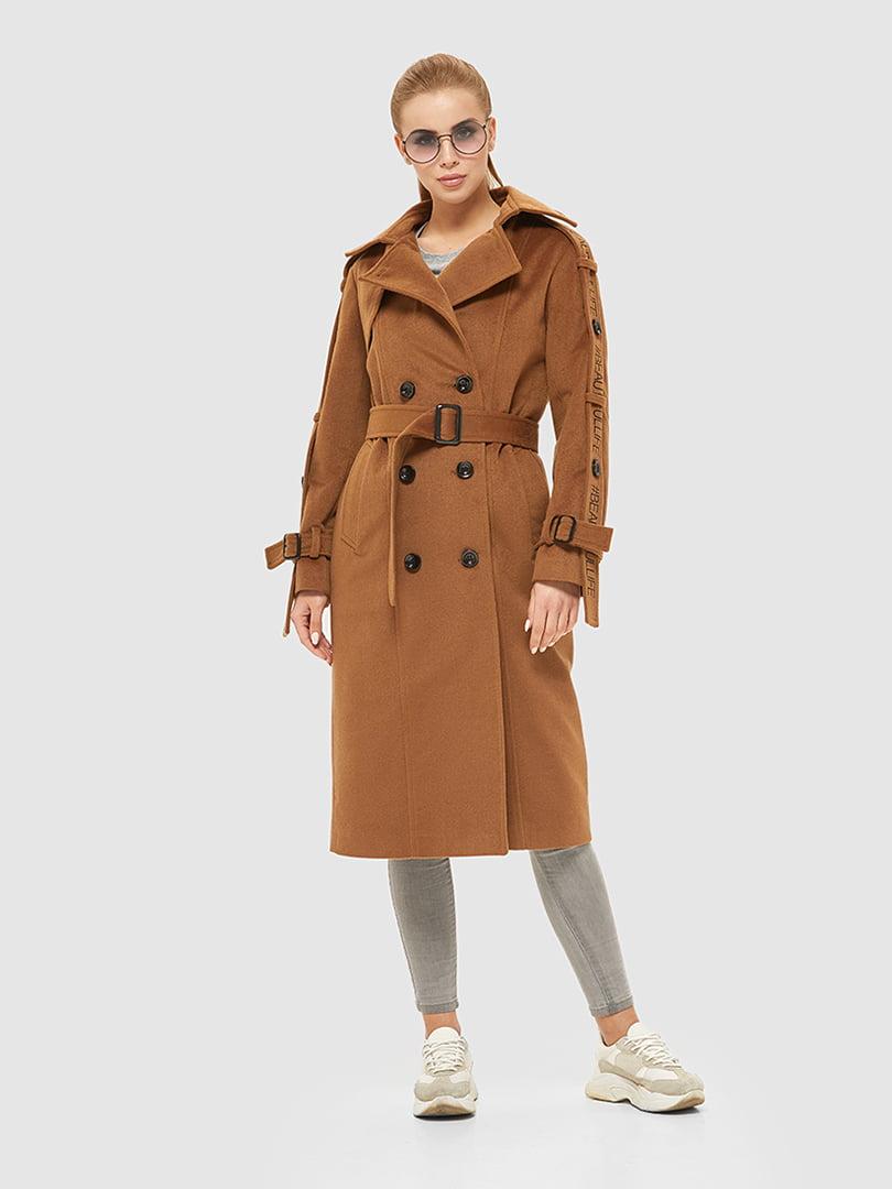 Пальто рудого кольору   5207065