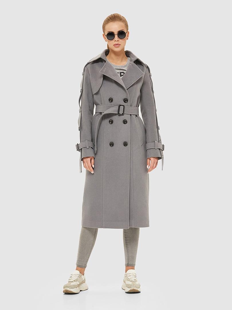 Пальто серое   5207067
