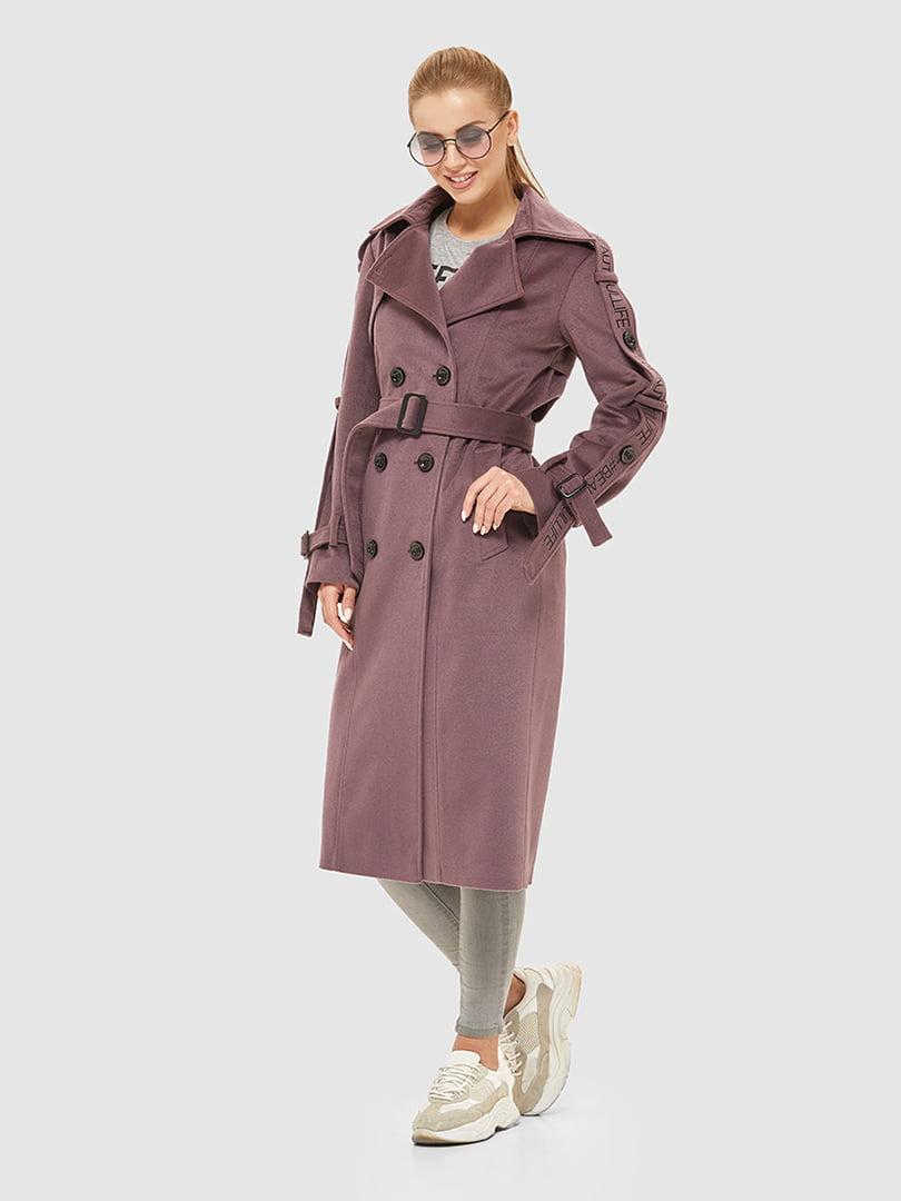 Пальто цвета фрезы | 5207070