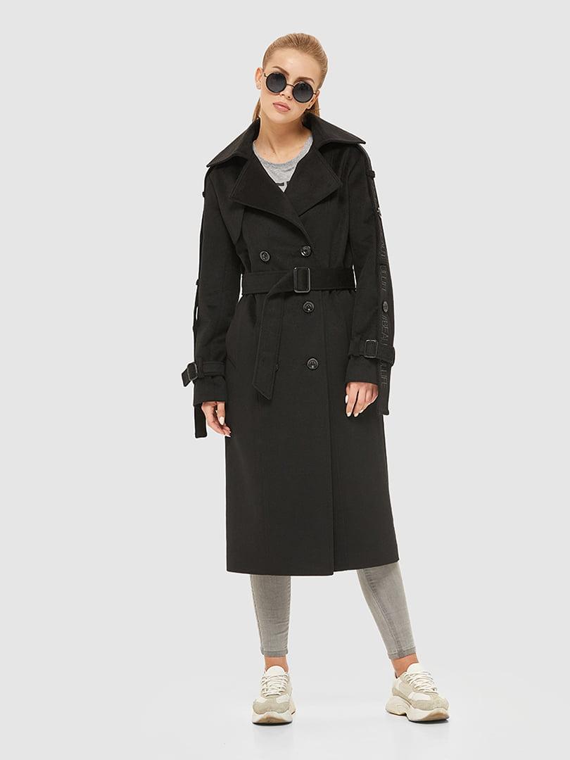 Пальто чорне | 5207071