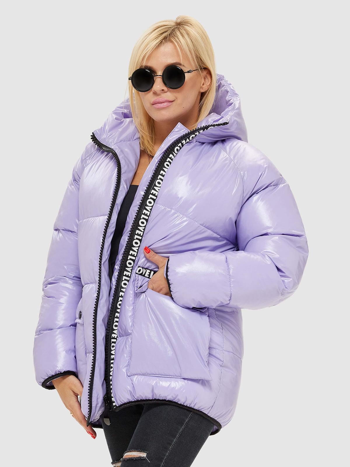 Куртка сиреневого цвета | 5207074