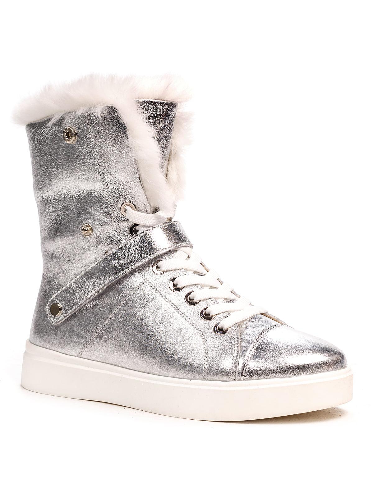 Ботинки серебристые | 5202904
