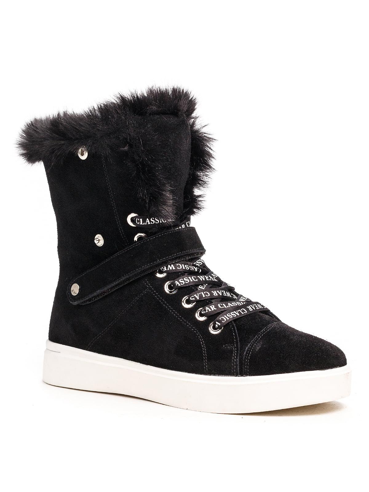 Ботинки черные | 5202903