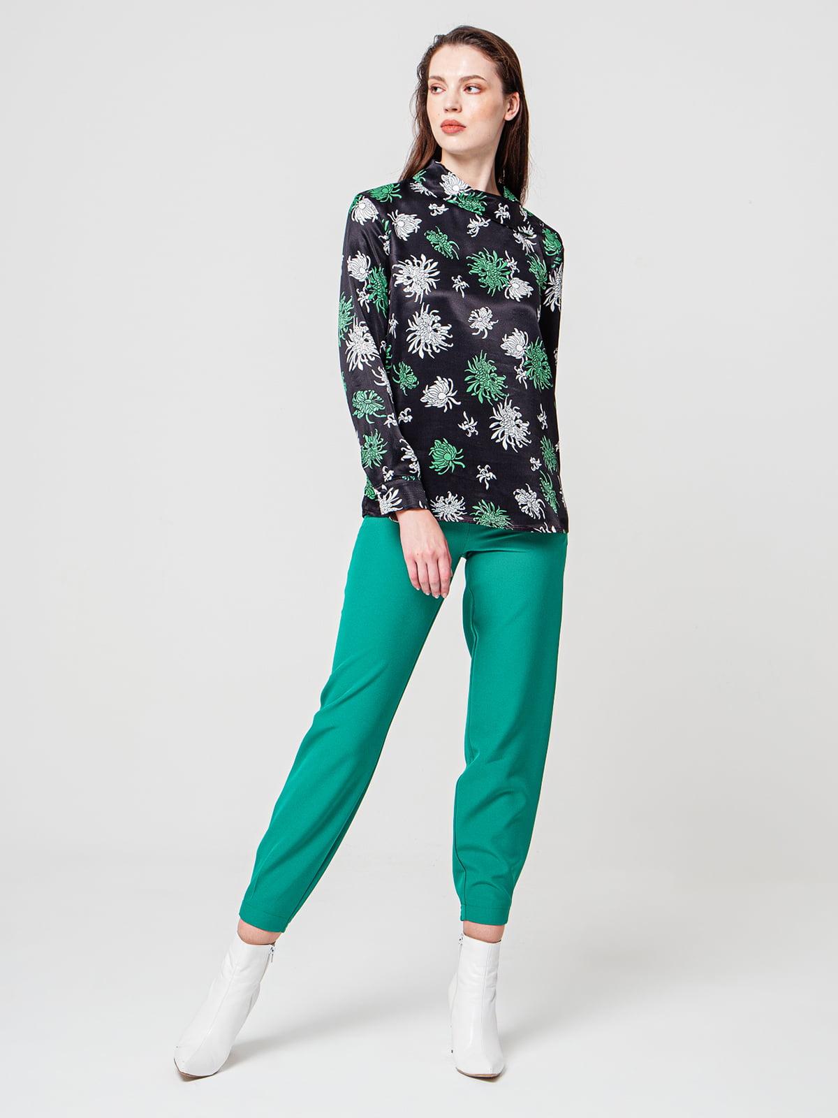Блуза в принт | 5205430