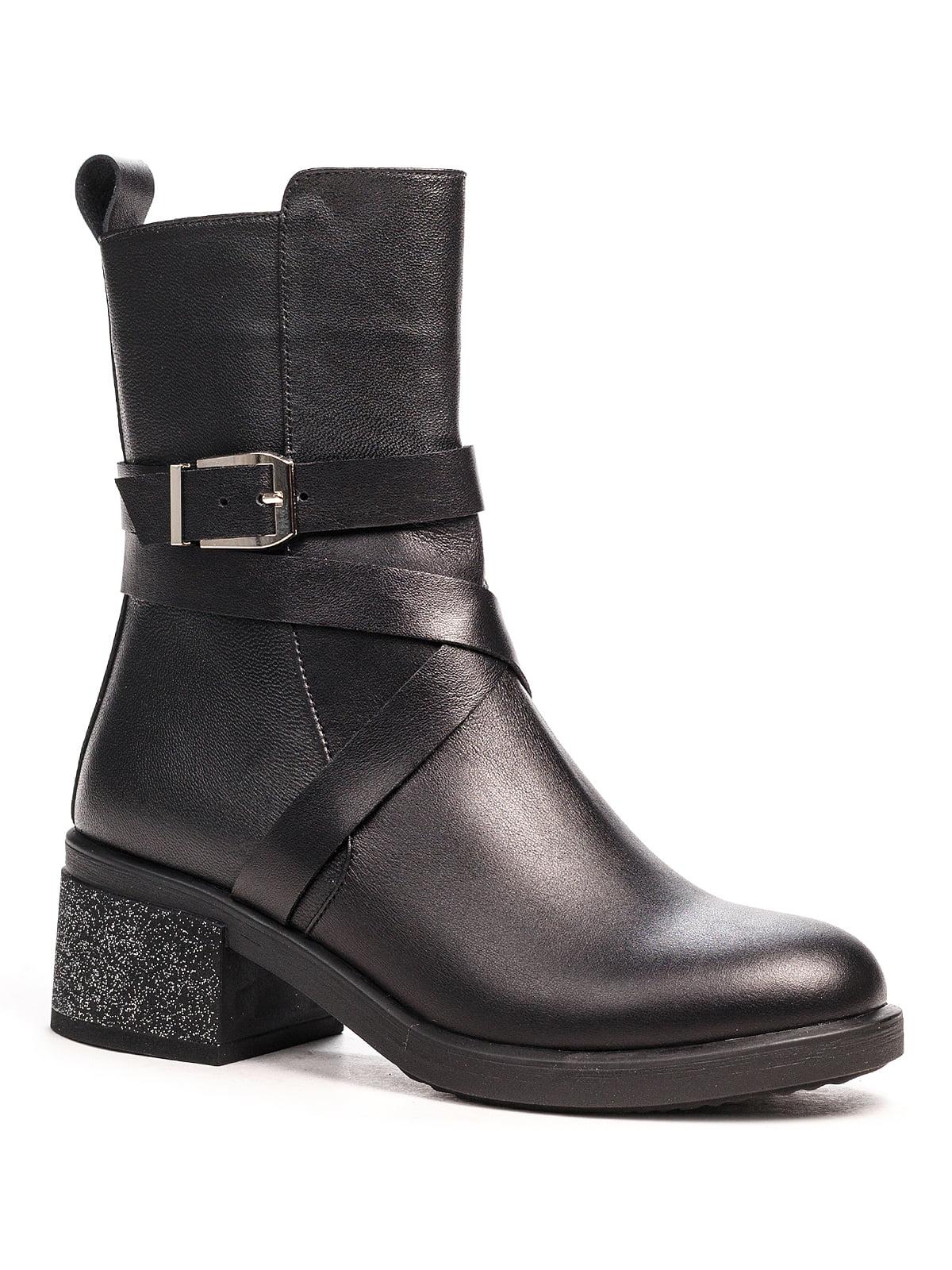 Ботинки черные | 5201496
